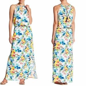 Tommy Bahama Floral Print Maxi Dress